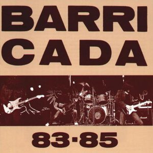 portada del disco Barricada 83-85