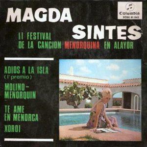 portada del disco II Festival de la Canción Menorquina en Alayor