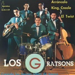 portada del disco Arráncalo / King Creole / Cuando los Santos Salen de Paseo / El Twist