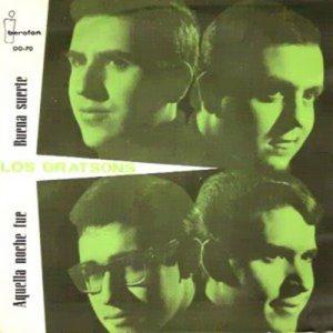 portada del disco Aquella Noche Fue / Buena Suerte