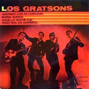 portada del disco Jugando con Mi Corazón / Buena Suerte / Aquella Noche Fue / Hago Mal en Quererte