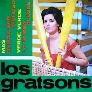 portada del disco Más / Quiero Ser Dichoso / Verde, Verde / La Bamba Alegre