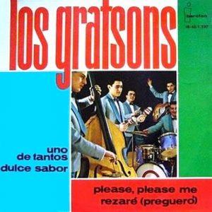 portada del disco Uno de Tantos / Dulce Sabor / Please Please Me / Rezaré