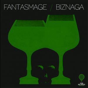 portada del disco Fantasmage / Biznaga