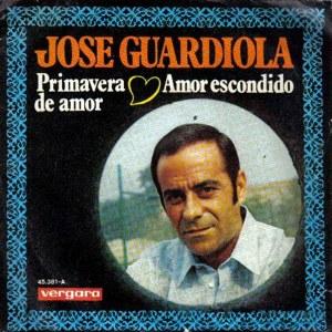 portada del disco Primavera de Amor / Amor Escondido