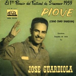 portada del disco El 1er Premio del Festival de San Remo 1959