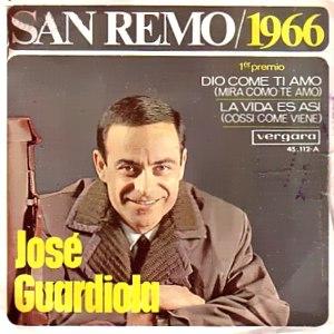portada del disco San Remo 1966