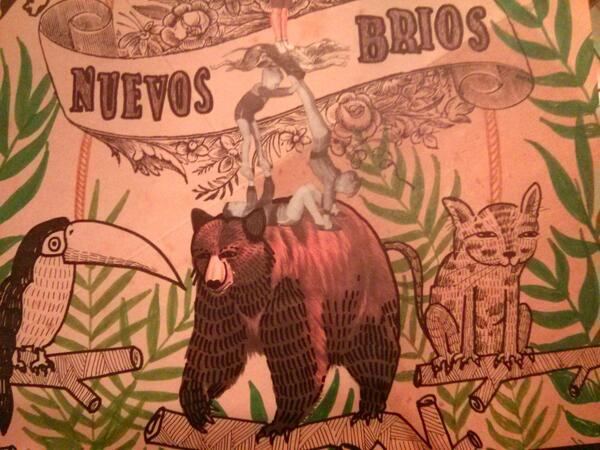Intervención de Littleisdrawing de la portada original de Marta Pina