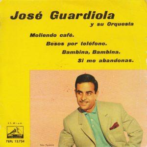 portada del disco Moliendo Café / Besos por Teléfono / Bambina, Bambina / Si Me Abandonas