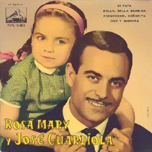 portada del disco Rosa Mary y José Guardiola