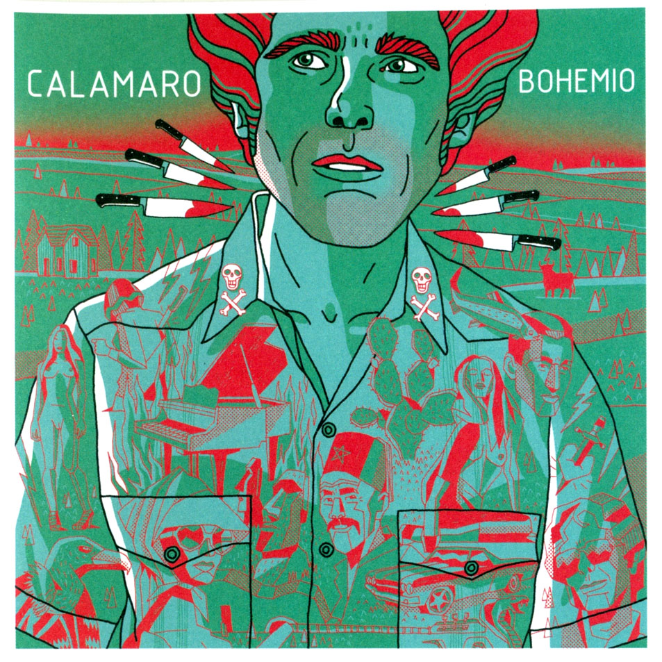 portada del album Bohemio