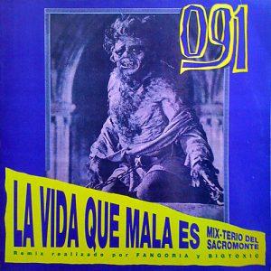 portada del disco La Vida qué Mala Es (Mix-terio Del Sacromonte)