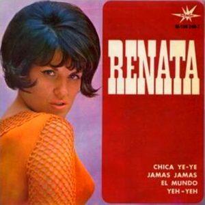 portada del disco El Mundo / Jamás, Jamás / La Chica Ye Ye / Yeh Yeh