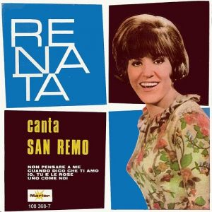 portada del disco Canta San Remo