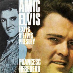 portada del disco Amic Elvis