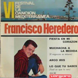 portada del disco VI Festival de la Canción Mediterránea
