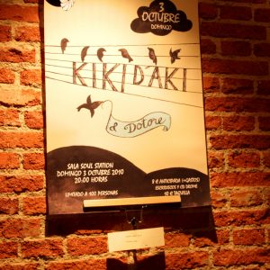 Exposición de carteles, Kikí d'Akí por María Silva