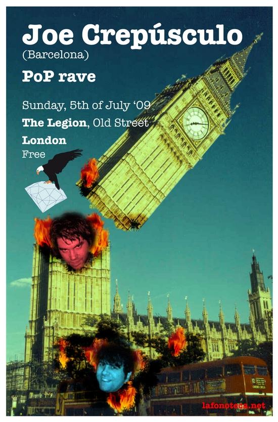 portada del evento JOE CREPÚSCULO EN LONDRES