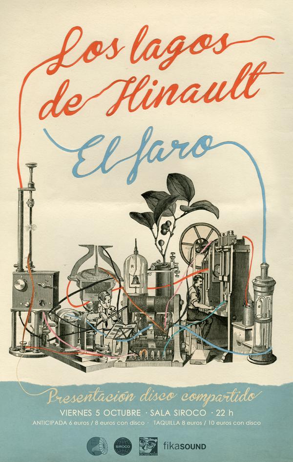 """portada del evento PRESENTACIÓN DEL 7"""" COMPARTIDO ENTRE EL FARO Y LOS LAGOS DE HINAULT"""
