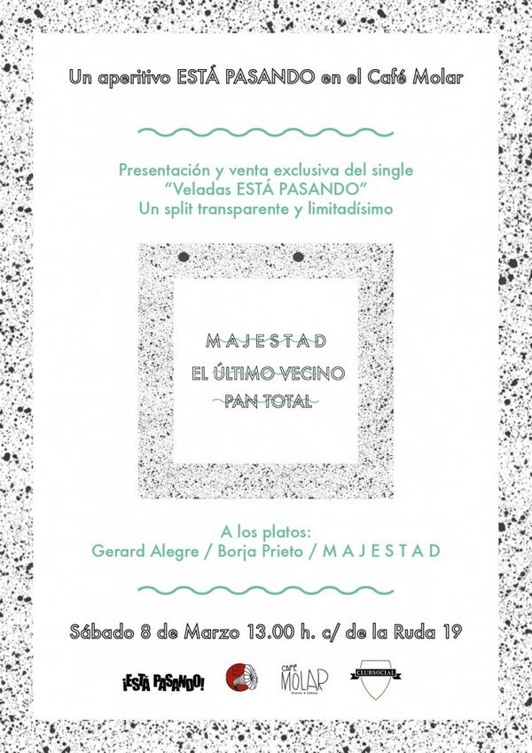"""portada del evento APERITIVO """"ESTÁ PASANDO"""" EN EL CAFÉ MOLAR"""