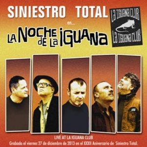 portada del disco La Noche de La Iguana