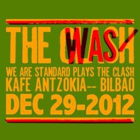 portada del disco We Are Standard Plays The Clash
