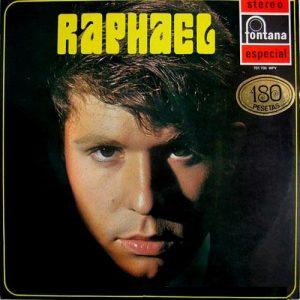 portada del disco Raphael. Hacia el Éxito