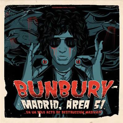 portada del album Madrid, Área 51