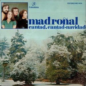 portada del disco Cantad, Cantad / Navidad