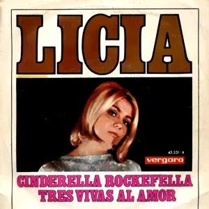 portada del disco Cinderella Rockefella / Tres Vivas al Amor