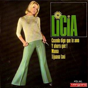 portada del disco Cuando Digo Que Te Amo / ¿Y Ahora Qué? / Mamá / Tijuana Taxi