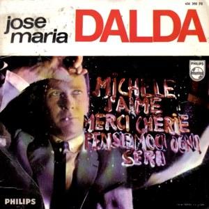portada del disco Michelle / J'Aime / Merci Cherie / Pensemos Esta Noche