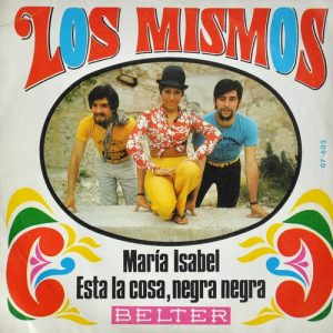 portada del disco María Isabel