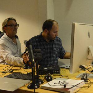 Carlos (ScannerFm) y Miguel (LaFonoteca)