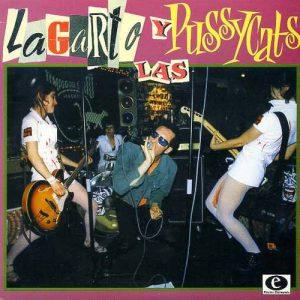 portada del disco Lagarto y las Pussycats: Gimme, Gimme, Gimme