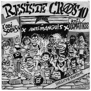 portada del disco Resiste, Cros 10!!