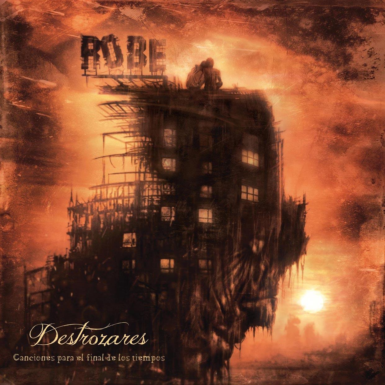 portada del album Destrozares, Canciones Para el Final de los Tiempos