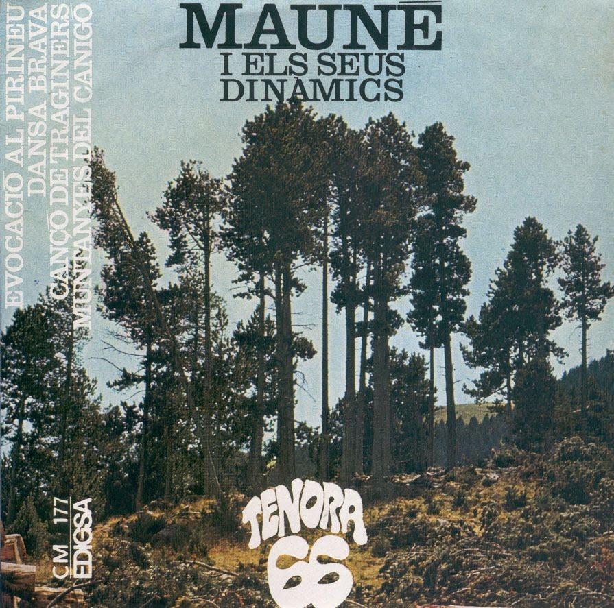 portada del album Evocació al Pirineu / Dansa Brava / Cançó de Traginers / Muntanyes del Canigó