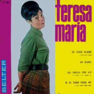 portada del disco Las Chicas son Así / Él Es Todo para Mí / La Clase Acabó / En Roma