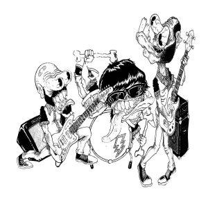 portada del disco The Phantom Dragsters