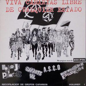 portada del disco Viva Canarias Libre de Cualquier Estado
