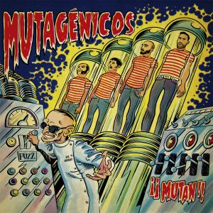 portada del disco ¡¡Mutan!!