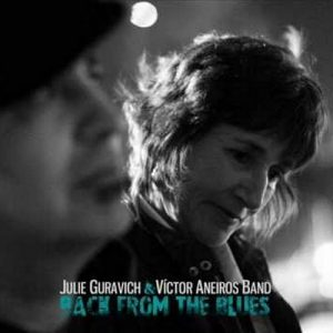 portada del disco Julie Guravich & Víctor Aneiros Band: Back from the Blues