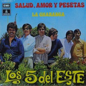 portada del disco Salud, Amor y Pesetas