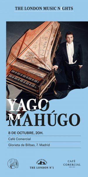 portada del evento YAGO MAHÚGO (THE LONDON MUSIC N1GHTS VOL. 2)