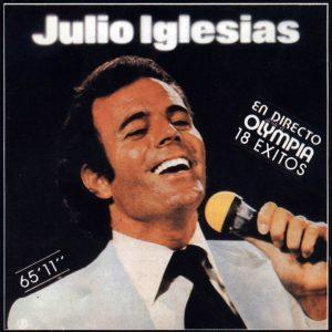 portada del disco Julio Iglesias en el Olympia