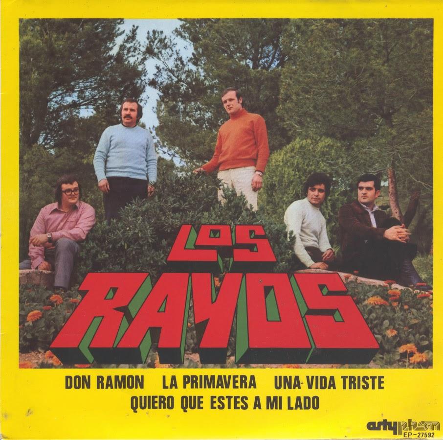 portada del album La Primavera / Don Ramón / Una Vida Triste / Quiero que Estés a mi Lado