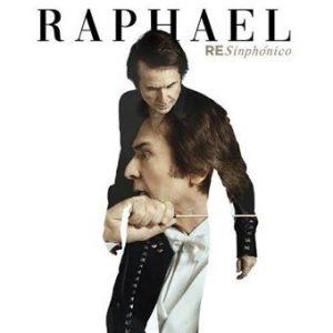 portada del disco Raphael RE Simphónico