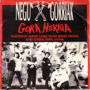 portada del disco Gora Herria