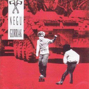 portada del disco Negu Gorriak